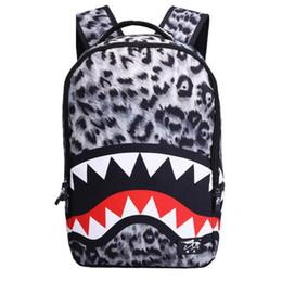 Enfants de bande dessinée étudiants sacs à vendre-Casaul Shark Anime Cartoon Cosplay Films Sac à dos Voyage School College Daypack Sac à bandoulière pour Girl Boy Enfants Étudiants sacs à dos