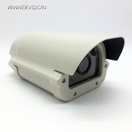 Free Shipping CCTV Box Array LED Light Aluminium Alloy Waterproof Outdoor Security CCTV Camera Housing