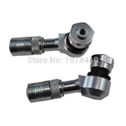 Wholesale High Quality CNC Alloy Tyre Air Valve Car Tire Stem For ATV Silver valve glass