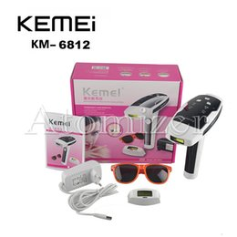 Wholesale KEMEI KM Photon Hair Removal Device Laser Epilator Permanent hair reduction for full Body Hair Removal Laser Epilator Lady Shaver
