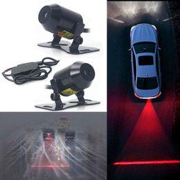 Wholesale Car Laser Fog Light Motorcycle Anti Collision Rear End Auto Brake Parking Lamp Universal Rearing Warning Light With Drive