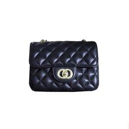 Chain bag women s handbag à vendre-Célèbre chaîne Marque Quilted Mini Sac en cuir d'agneau Flap épaule du concepteur Sac à main femmes diamant Lattice Petit 1115 1116 CC35