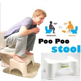 Wholesale Hot Brand New Original The Best and Most Convenient squad Stool Potty The Original Bathroom Toilet Stool Dimensions cmx cmx21cm White