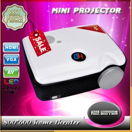 Wholesale High quality PH5 Mini Projector LCD lumens x600 Resolution W LED Projectors Best TV Projector