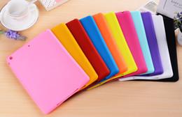 1pc ipad mini 2016 new cute candy-colored apple ipad mini2 protective sleeve ipad mini3 ipad mini4 slim silicone sleeve shell