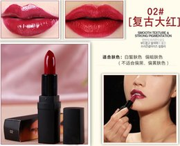 Fashion Makeup Lipstick Lip Stick Waterproof Long Lasting cream lipsticks cosmetic 15colors party festive gift drop shipping