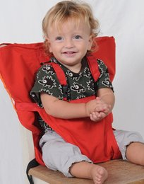 Candy colors baby Portable Seat Cover Sack'n Seat Kids Safety Seat Cover Baby Upgrate Baby Eat Chair Seat Belt Z0100A