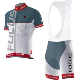 Wholesale 2015 focus team Cycling Jersey Short Sleeve Jersey Bib Shorts Set Pro Team Sky Cycling Clothing Maillot Bike Bicycle Wear