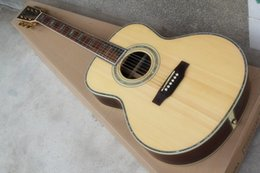 Wholesale ALL NEWmartin045 acoustic guitar ballad section OM barrels are inch single color shell edging plane