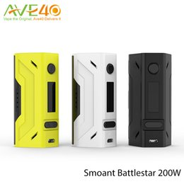 Wholesale Smoant Battlestar w TC Mod NI200 TI SS TCR Mode Connector with OLED Screen VS Wismec RX23