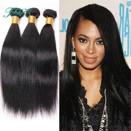 8A Malaysian Hair Straight Weaves 3Bundles Unprocessed Cheap Malaysian Straight Hair Brazilian Peruvian Indian Human Hair