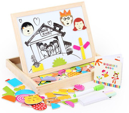new magnetic fight fight music. Puzzles, Sketchpad can be dual-use. Children's early childhood educational wooden toys.
