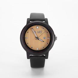 Luxury Brand Sandal Wooden Mens Quartz Watches Fashion Natural Wood watch