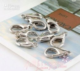 Wholesale Hot Alloy Silver Plated Lobster Clasps mm mm MM DIY jewelry