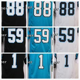 Wholesale jerseys Luke Kuechly Cam Newton Greg Olsen Stitched Jerseys Number Panthersded Blue Black White