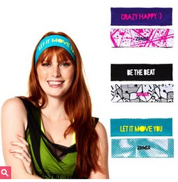 women head Accessories yoga headband 3pcs set Yoga Hair Bands Be Bold Reversible Headbands 3pk