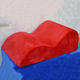 Wholesale New Arrival Adult Sex Sofa S Shaped Multi Position Chair Sex Bed Wedge Sponge Sofa Different Position Sexy Furniture FE0045