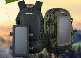 Wholesale solar outdoor packsack hiking and clibming backpack high capacity nylon solar bag for outdoor sport wigh high quality solar panel