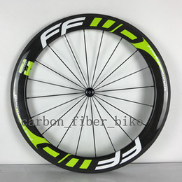 A pair wheelset carbon 60mm clincher road wheel 23mm width bicycle fiber wheels with Novatec 27 1