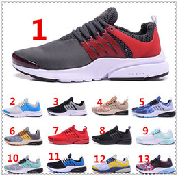 Wholesale 2016 New Colors Real Logo Air Presto TP BR QS Mesh Men s Running Shoes Breathable Sneakers Trainers Mens Sock Dart Outdoor Sport Shoes