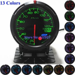 Wholesale Colors in One Racing Car mm Defi Advanced BF Water Temp Gauge Meter with All Accessories