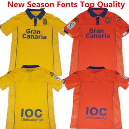 Wholesale Soccer Jersey Las Palmas camisetas de futbol SERGIO ARAUJO Football Shirts MOMO MICHEL La Liga Las Palmas Kids Shirts Top Quality