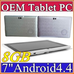Q88 7 inch Android 4.4 Allwinner A33 Capacitive Screen Quad Core 512MB 8GB Dual Camera External Tablet PC for gift F-7PB