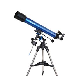 Wholesale New Meade Polaris mm German Equatorial Refractor Telescope Stainless steel Tripod w Accessory Tray W2531L