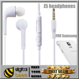Wholesale Earphones mm earphone In Ear Stereo Headset Headphones With Mic Remote Volume Control For Samsung s6 Galaxy S6 S4 S5 Note