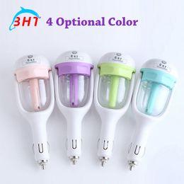 Wholesale Creative Mini Portable Car Humidifier Aroma Diffuser Essential Oil Diffuser Aromatherapy Spa Fresh Air Remove Smoke Clean