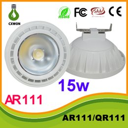 Wholesale AR111 Led G53 E27 GU10 W Led Spotlights ceiling lamp Dimmable QR111 warm cool white led bulbs V V CE ROHS UL