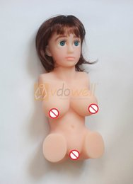 Free shipping 1pc 2016 3D 2kgs LOVE SEX DOLL with head sex torso doll for man Realistic Vagina Pussy Ass Tits Male Masturbator sex product