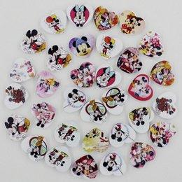100pcs lot Wholesale Colorful Lead-free Heart Wood Beads for Bracelet Necklace 27x18mm k04011