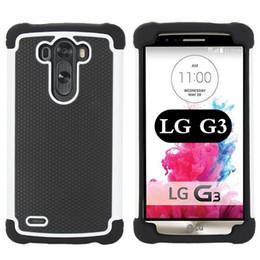 A prueba de golpes Armadura pesada híbrido de la piel de fútbol Tough dura cubierta de plástico de goma del silicón para LG G3 G2 D850 D802 LG GOOGLE NEXUS 5 desde plástico nexo fabricantes