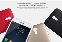 Wholesale case delux Original NILLKIN Frosted Shield Phone Case for ZUK Z1 Screen Film Registered Air Mail