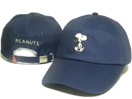 Wholesale 2016 dark blue men PEANUTS exclusive baseball cap golf cap bent brimmed hat casquette outdoor peaked hats sun caps many colors DD