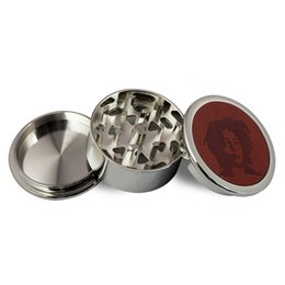 Zinc Alloy Grinder, Metal Grinders with Pollen Catcher for Spice, Three Layers Parts, Free Shipping