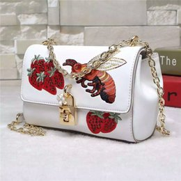 High Quality embroidery Genuine leather bags free shipping cow Leather Women bags Shoulder Bag cross body bag hand bag