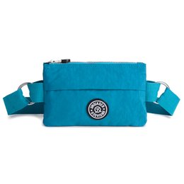 Wholesale Alta Calidad de Nylon Paquetes de La Cintura Deportes Al Aire Libre de Los Hombres Y Mujeres de La Cintura Cinturón Bolsa Portátil Bolsas de