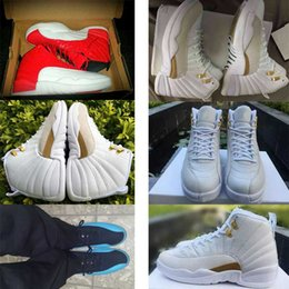 OVO white the master Gym GS Men Red Retro Women Basketabll Shoes Cheap French Blue Taxi Playoffs Grey Sports Retros 12s XII Sneakers