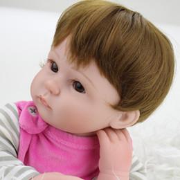 Realistic Reborn Baby Doll Lifelike Cloth Body Soft Silicone Vinyl Newborn Baby Kids Child Gift Toys Nursing Tool