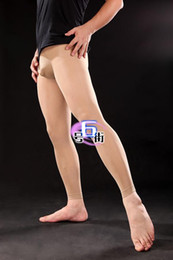 Wholesale Genuine men s stockings D velvet bag front nine pantyhose through genuine meat
