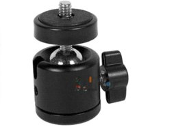Mini ball head Tripod head for Monopod and Camera tripod free shipping! Tripod Heads