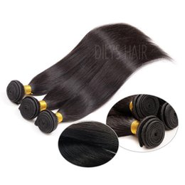 "8A Brazilian Hair Products Hair Wefts Extensions 8-30"" Cheap On Sale 3Pcs lot Real Human Hair Straight"