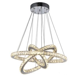 VALLKIN DIY LED Pendant Lights K9 Crystal Chandeliers Hanging Lamps Fixtures For Indoor Home with AC100 to 240V CE FCC ROHS