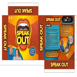 Wholesale 2016 ebay and Amazon best selling Speak Out Game KTV party newest best selling toy Pie Face of
