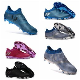 Wholesale New Messi Pureagility FG AG Soccer Cleats Mens Football Soccer Shoes For Cheap Football Cleats Soccer Boots Football Boots Sale