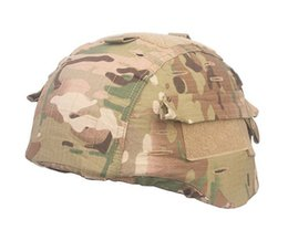 Wholesale Airsoft Tactical Helmet Cover for MICH Helmet Version Helmet Cover Paintball Hunting Army Helmet Cover