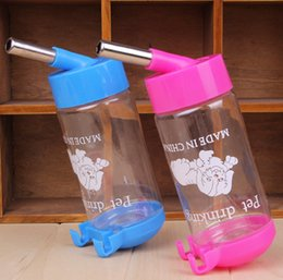 Wholesale High quality pet products ml pet drinking fountains The pet water bottle Hamster water fountain