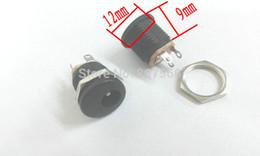 500pcs DC socket 5.5MM X 2.1MM Panel mounting CCTV Power connector